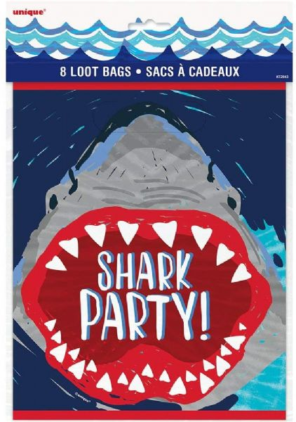 Shark Party Loot Bags (8)